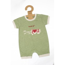 Budding Baby  Anti_Mosquito Apparel Romper Boy - Green