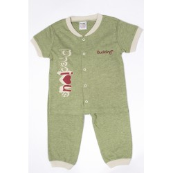 Budding Baby Anti-Mosquito Apparel Short Sleeve & Long Pant Boy - Green