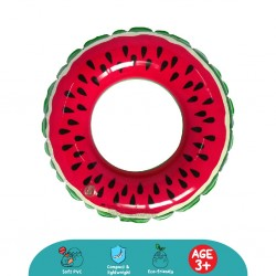 'Cheekaaboo Juicy Fruity Kids Swim Ring - Watermelon'