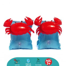 'Cheekaaboo Arm Float - Scarlet Crabby'