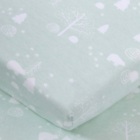 Comfy Living Fitted Sheet 2448