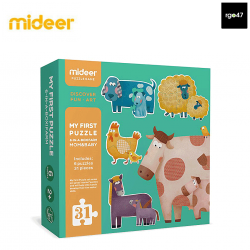 Mideer My First Puzzle (Farm)