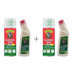 Euky Bear Eucalyptus Spray 200GM + Pre Wash 200ML FOR 2 SET