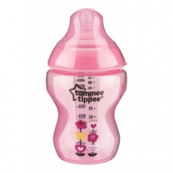 Tommee Tippee Tinted Bottle 260ml/9oz (Pink)