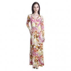 'Fabulous Mom Mariana Nursing Maxi Dress'