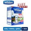 Wildan Goat's Milk Asli (Original) 550g /Coklat 500g (with Free Gift)