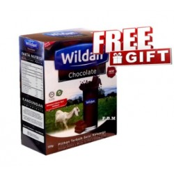 Wildan Goat's Milk (Chocolate) 500g - Free Gift