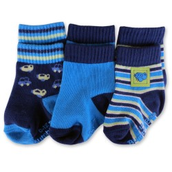 Bumble Bee 3 Pairs Pack Boy Plane Socks (S0100L)
