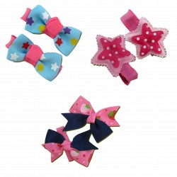 Bumble Bee Elegant Hair Clips (3 packs)   Design9