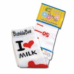 Bumble Bee Hand & Leg Warmers - I Love Milk (HLM0001)