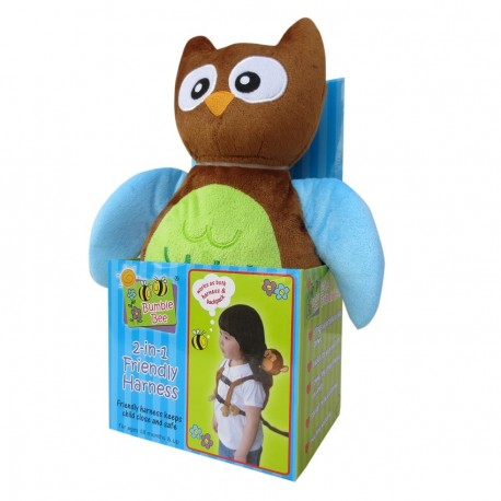 Bumble Bee 2 in 1 Safety Harness (Owl)