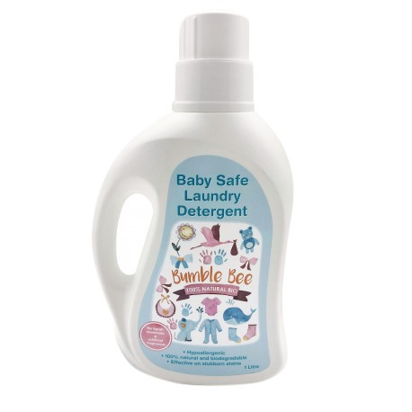 Bumble Bee Baby Safe Laundry Detergent (Bottle 1L)