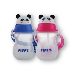 FIFFY Twin Pack 430ml Air Vent Drinking Container (Mix) - 98-386VP