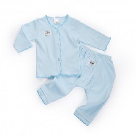 'FIFFY Long Sleeve Vest Suit(Newborn) - 19468230'