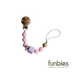 Funbies Silicone Pacifinder Beads (Pink)