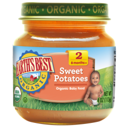 Earth's Best Organic Sweet Potatoes  4oz (6mth+)