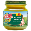 Earth's Best Organic Spinach & Potatoes 4oz (6mth+)