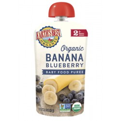 Earth's Best Organic Banana Blueberry Puree (6mth+)