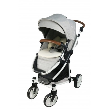 Royal Kiddy London 2 in 1 The Euphoria Travel System (Car Seat Included) (GREY)