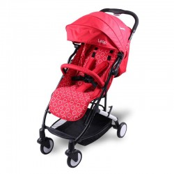 KINDERWAGON LEAP Compact Lightweight Stroller (RED)
