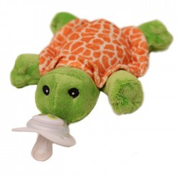 Nookums Paci-Plushies Shakies - Tickles Turtles