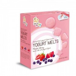 Wel. B Baby Freeze Dried Yogurts Mixed Berry (2 boxes)