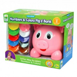 TLJI Numbers & Colors Pig E Bank