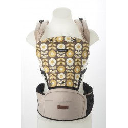Akarana Baby Tauawhi Baby Hipseat Carriers Simple Fit (Mild Beige)