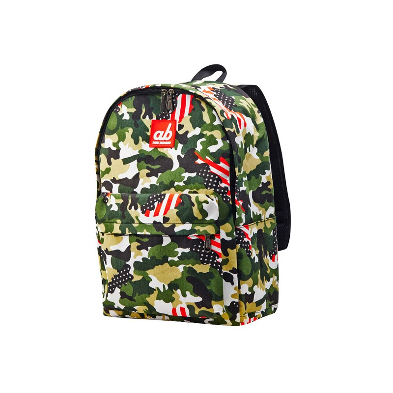 ab new zealand kids canvas backpack us camo diapers. Black Bedroom Furniture Sets. Home Design Ideas