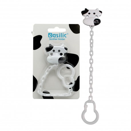 Basilic Soother Holder (Cow)