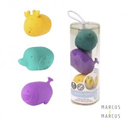 Marcus & Marcus Mold Free Silicone Squirting Bath Toys (3pcs Set)