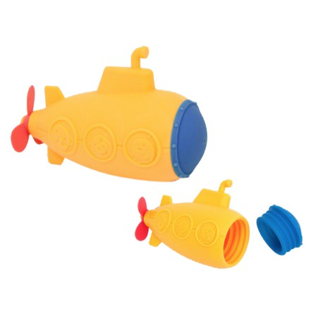 Marcus & Marcus Mold Free Silicone Squirting Bath Toys (Submarine Squirt)