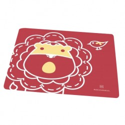 Marcus & Marcus Silicone Placemat (Red Marcus)
