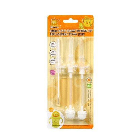 Simba Straw Replacement & Brush Set For Flip-It Straw Training Cup