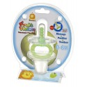 Simba Fruit Vision Round Shape Massage Pacifier (0 Months+) Green