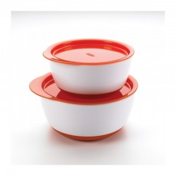 OXO TOT Small & Large Bowl Set - Orange