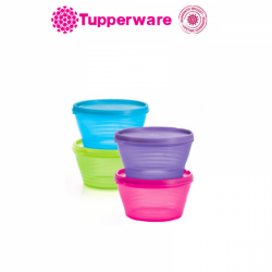 Tupperware Snack N Go Snack Bowl (500ml) Blue Color -1pcs