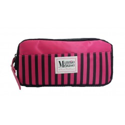 Disney Minnie Mouse Logo One Zip Pencil Bag