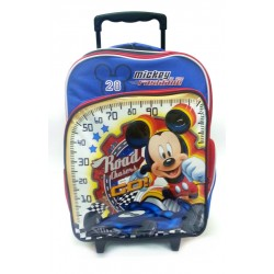 Disney Mickey Mouse Fastlane School Trolley Bag