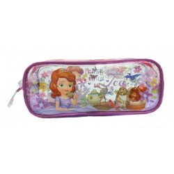 Disney Sofia The First Tea Time Square Transparent Pencil Bag Set