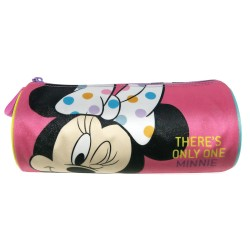 Disney Minnie Mouse Only One Round Pencil Bag