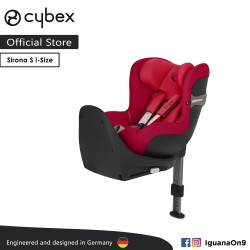 Cybex Platinum Sirona S i-Size 360 rotation Car Seat (Rebel Red) - Cybex Malaysia Official Store