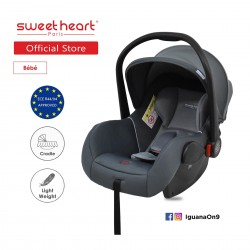 Sweet Heart Paris CS322 Car Seat cum Carriage (GREY) - 2019 Edition\''