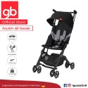 [Official Store] 2019 gb Pockit Plus All-Terrain (Velvet Black) - World Lightweight Cabin Size Stroller with Reclining Seat'