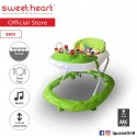 Sweet Heart Paris Baby Walker BW01 (Green) With 3 Height Adjustment\''