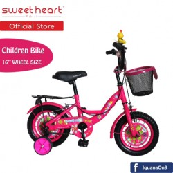 Sweet Heart Paris CB1601 G-MAX Children Bicycle (Pink)