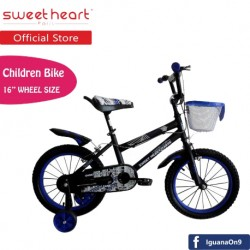 'Sweet Heart Paris CB1601 TREX Children Bicycle (Black/Blue)'