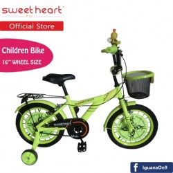 Sweet Heart Paris CB1601 M-MAX Children Bicycle (Neon Yellow)