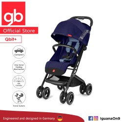 gb QBIT Stroller (Sapphire Blue) - The Luxury Traveller (gb Malaysia Official)