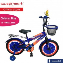 Sweet Heart Paris CB1601 C-MAX Children Bicycle (Blue) Suitable from 4 to 9 years old\''
